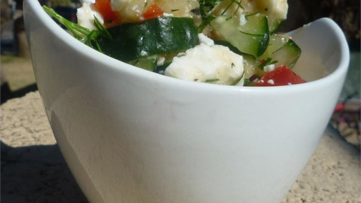 Cucumber Feta Salsa Recipe - Allrecipes.com