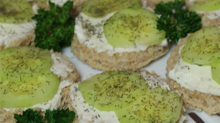 Summer Time Cucumber Sandwiches