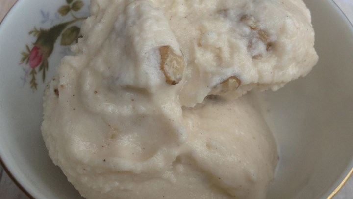 Cinnamon Black Walnut Ice Cream
