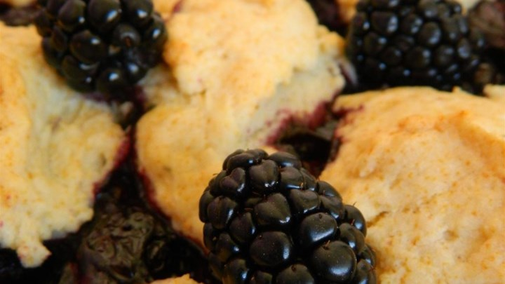 Rustic Blackberry Cobbler