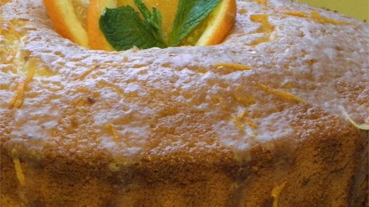 Orange Fluff Cake