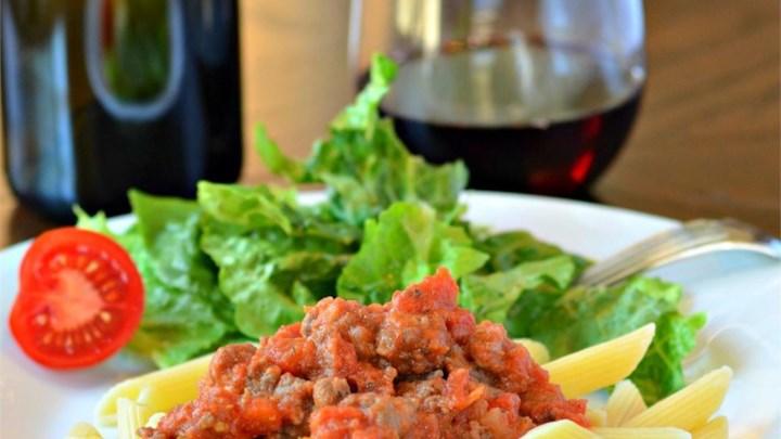 Valerie's Bolognese Sauce