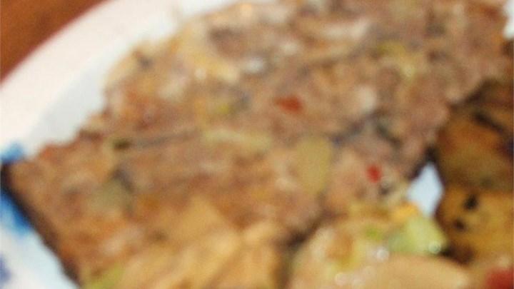 Mushroom in the Middle Meatloaf