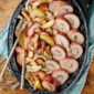 Prosciutto-Wrapped Pork with Roasted Apples & Fennel