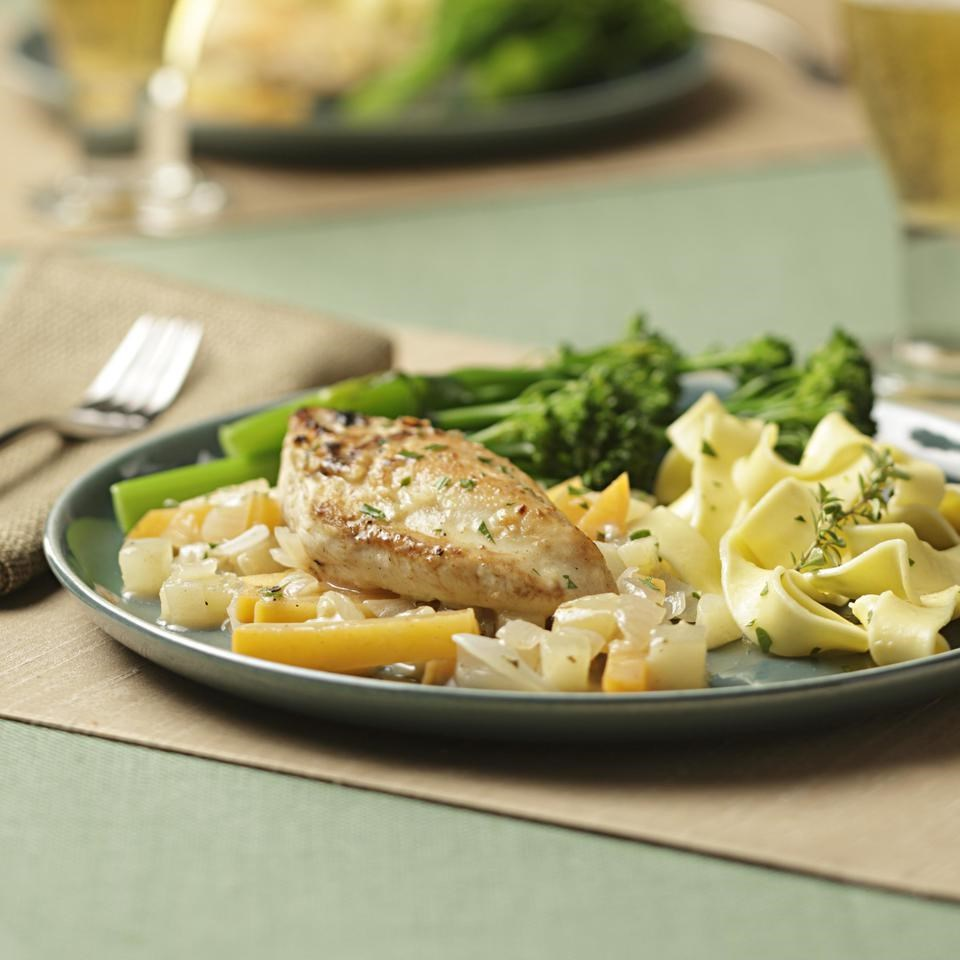 North Country Braised Chicken Recipe