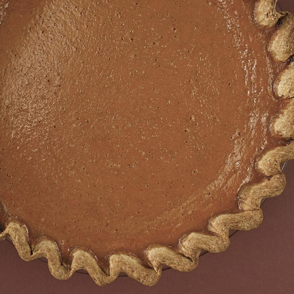Pumpkin Pie with Rum
