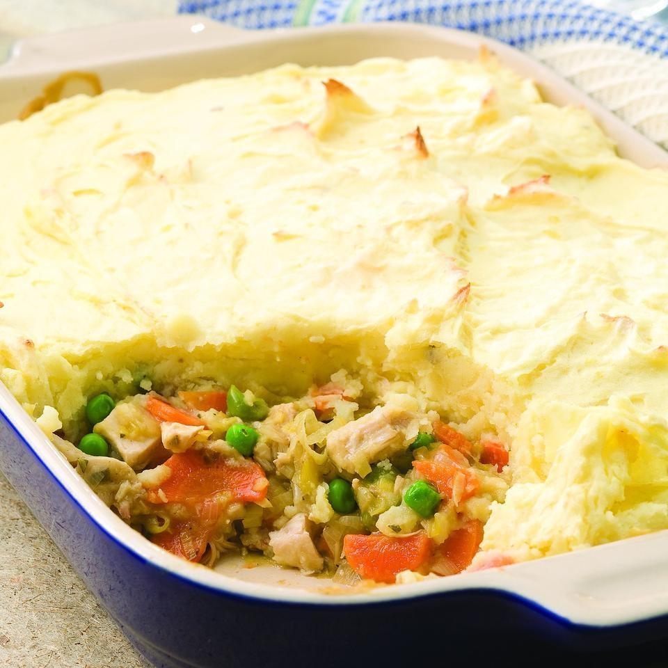 Turkey & Leek Shepherd's Pie