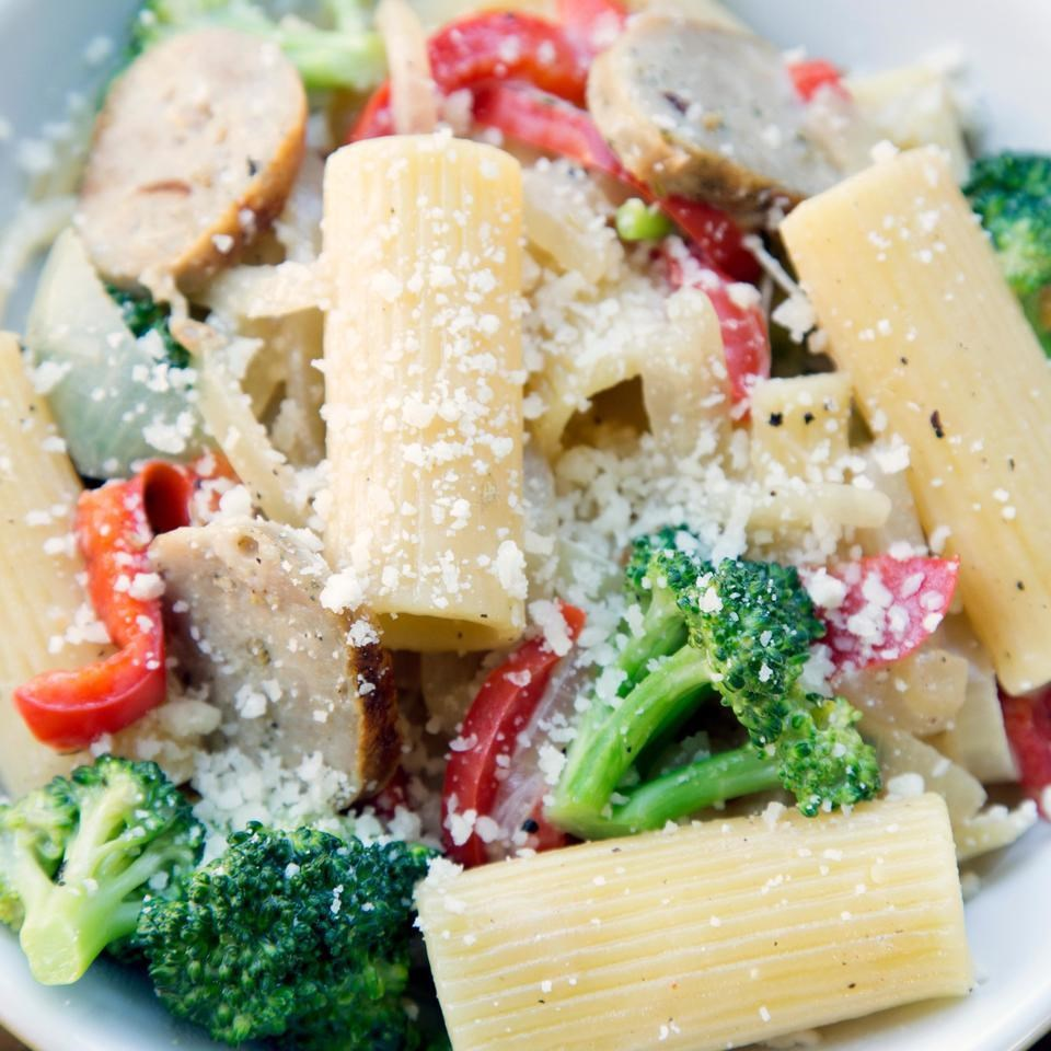 Rigatoni with Sausage & Broccoli