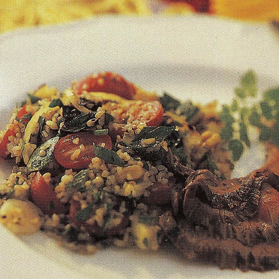 Tabbouleh with Grilled Vegetables