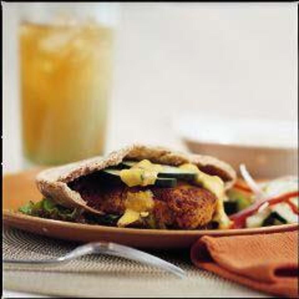 Curried Cashew Burgers