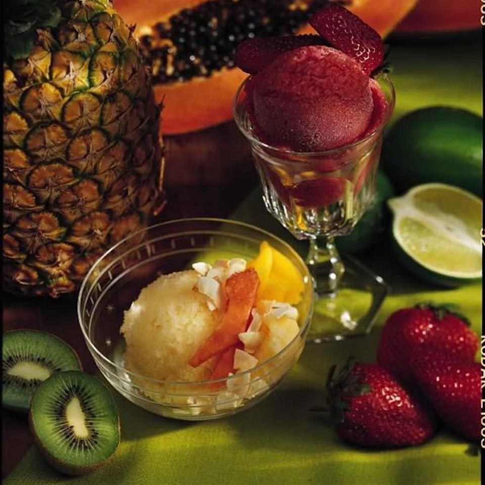 Tropical Fruit Ice Recipe - EatingWell