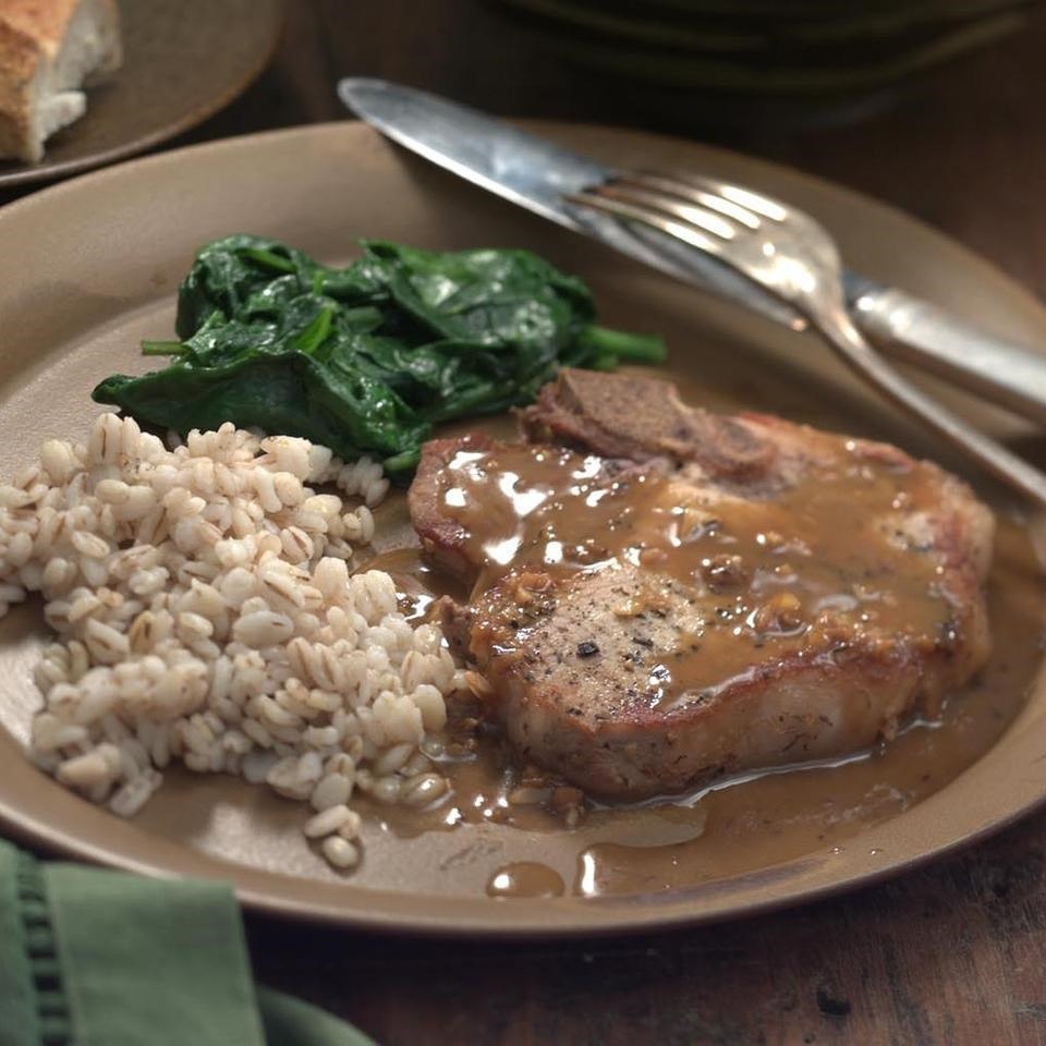 Pork Chops with Orange-Soy Sauce Recipe - EatingWell