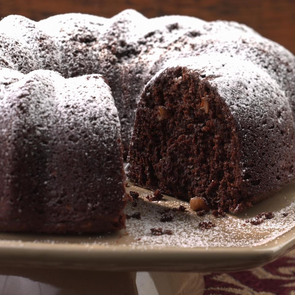 Triple Chocolate Bundt Cake With Sour Cream