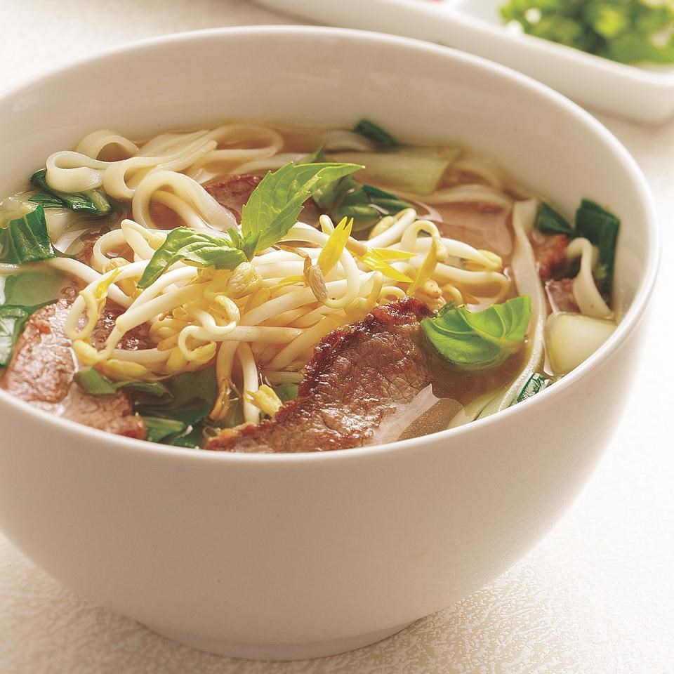 Vietnamese-Style Beef & Noodle Broth  Recipe