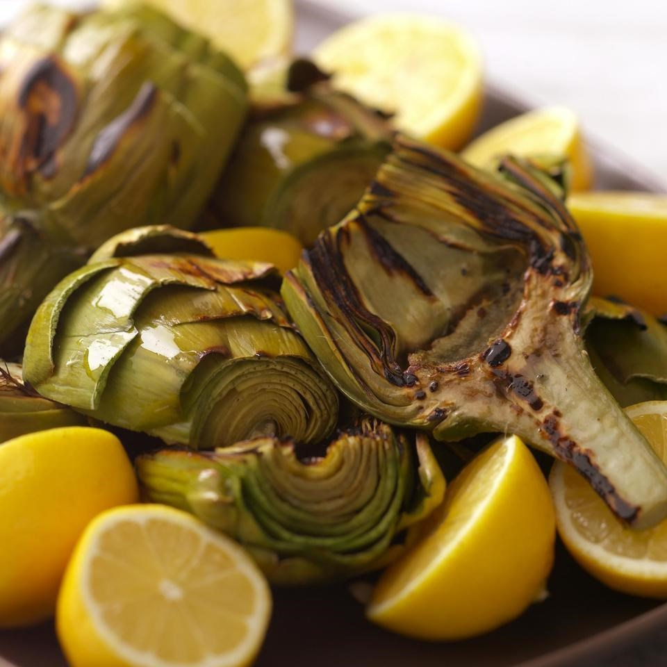 grilled artichokes recipe eatingwell