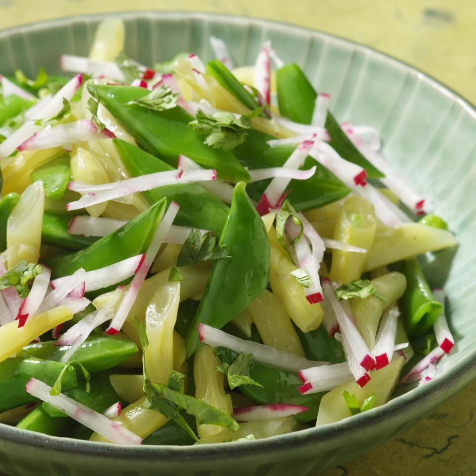 Snap Pea Salad with Radish & Lime