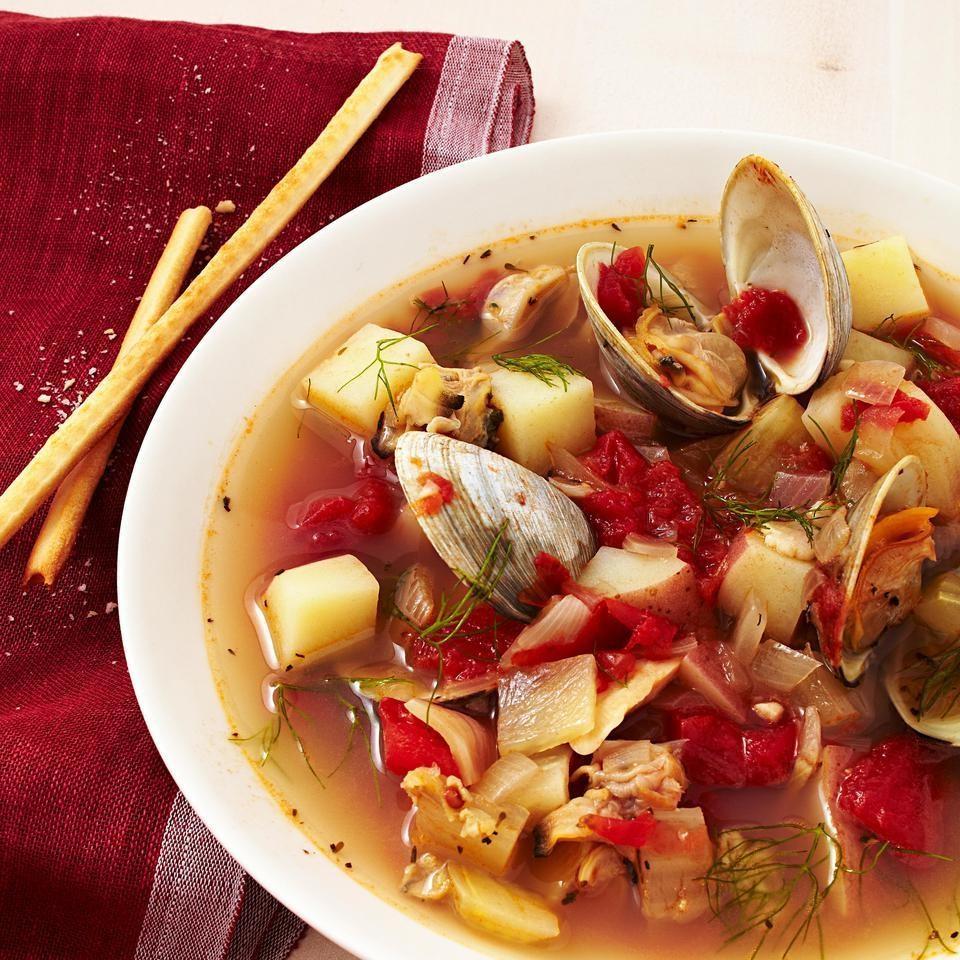Manhattan Clam Chowder Recipe - EatingWell.com