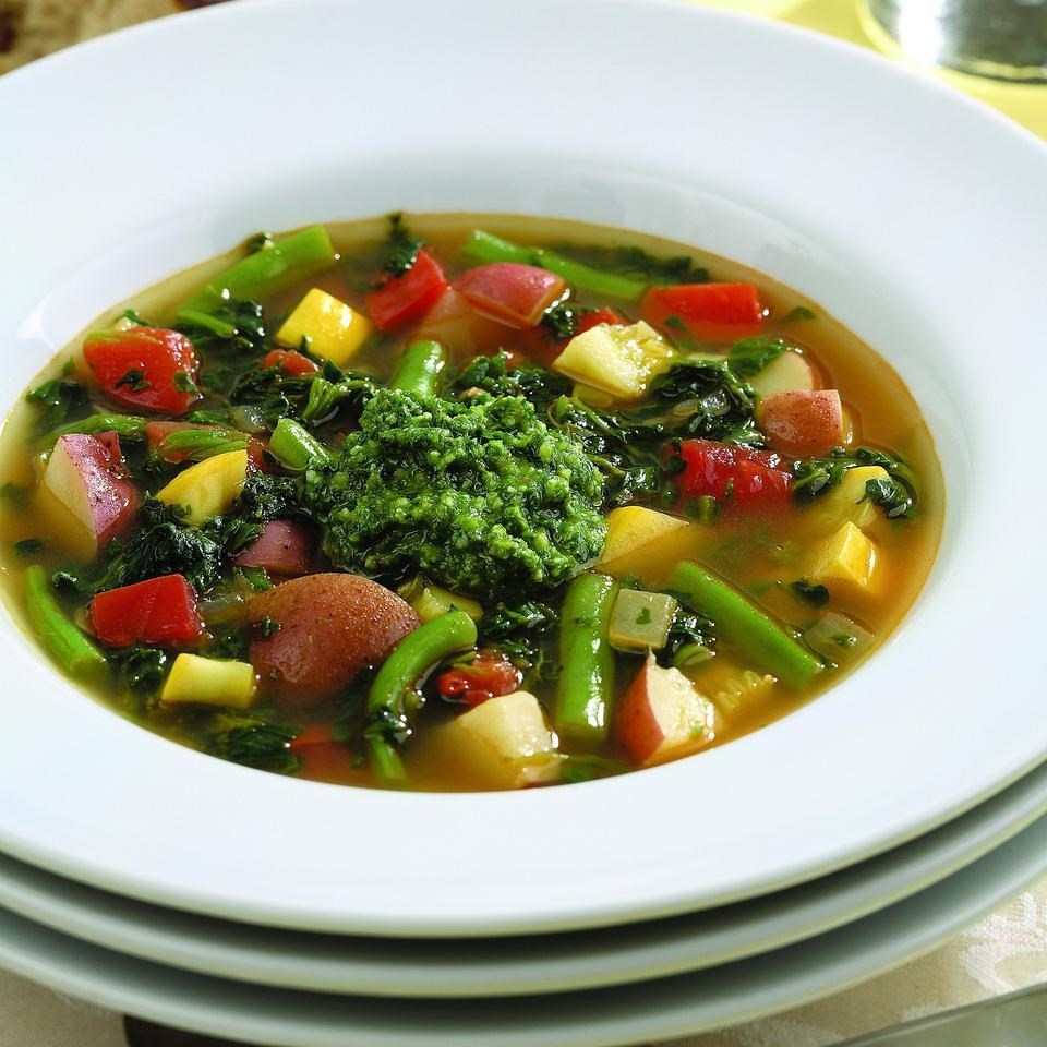 Spicy Vegetable Soup Recipe