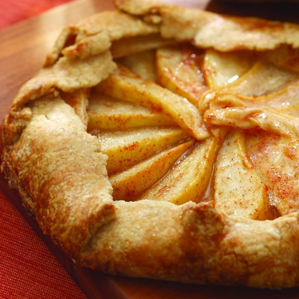 Rustic Pear Tart Recipe - EatingWell.com