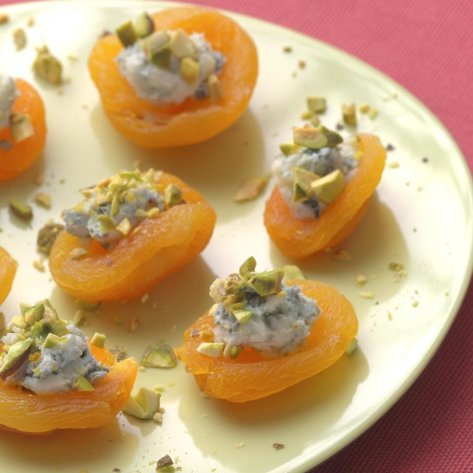 Apricot canapes recipe for Canape receipes