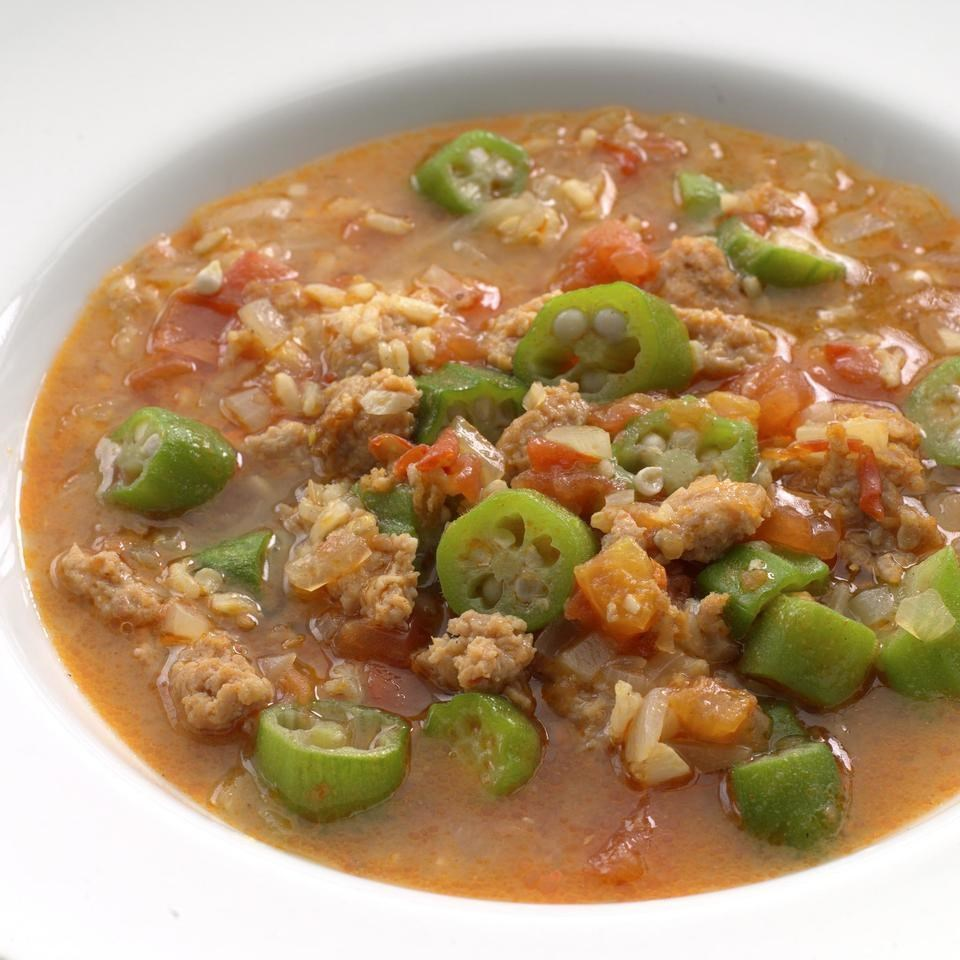 Sausage Gumbo Recipe - EatingWell