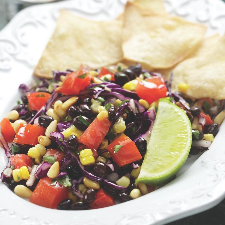 Southwestern Corn & Black Bean Salad Recipe - EatingWell