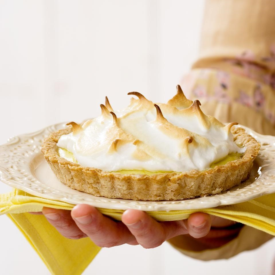 Lemon Meringue Tart for Two Recipe - EatingWell