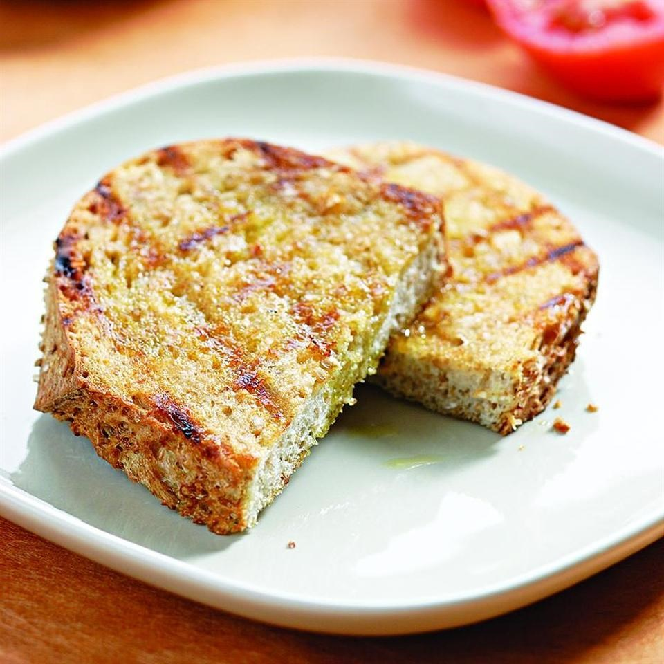 Garlic-Tomato Toasts