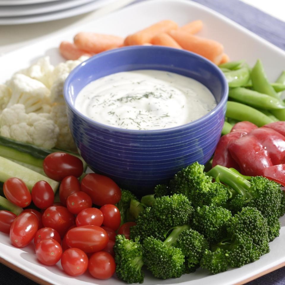 Ranch Dip & Crunchy Vegetables Recipe - EatingWell