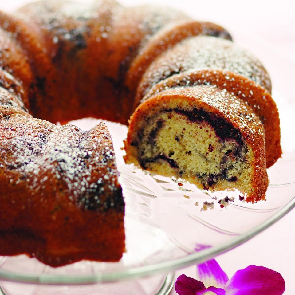Cherry Almond Bundt Cake Recipe