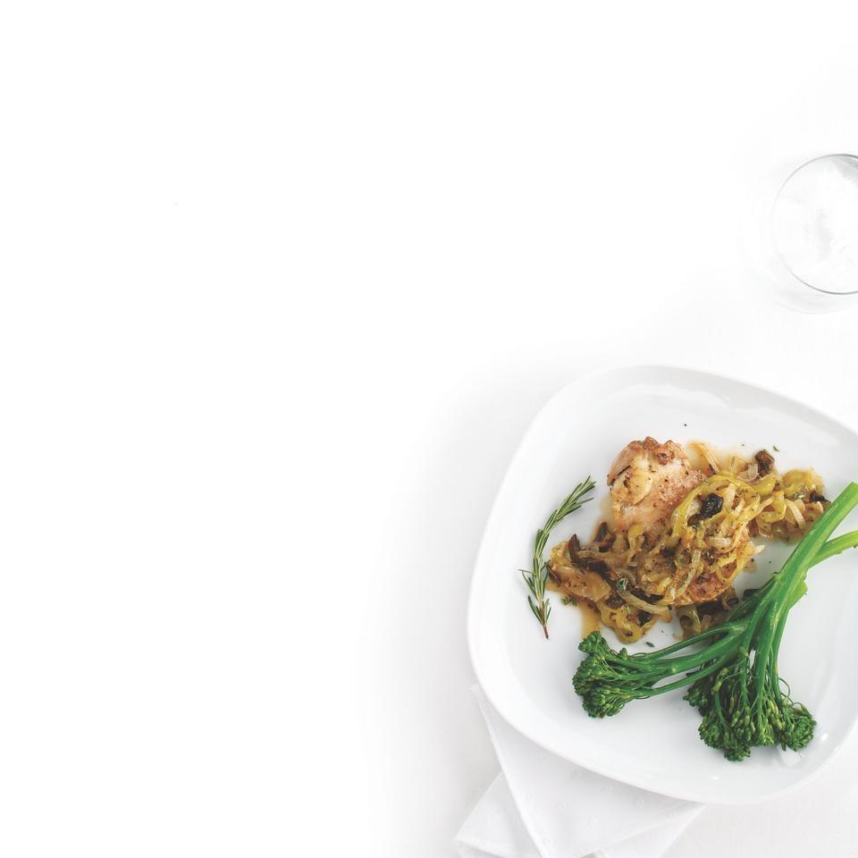Fennel, Porcini & Chicken Cacciatore