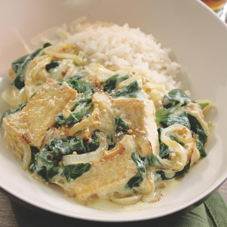 Saag Tofu Recipe - EatingWell