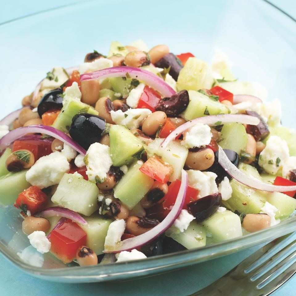Cucumber & Black-Eyed Pea Salad Recipe - EatingWell