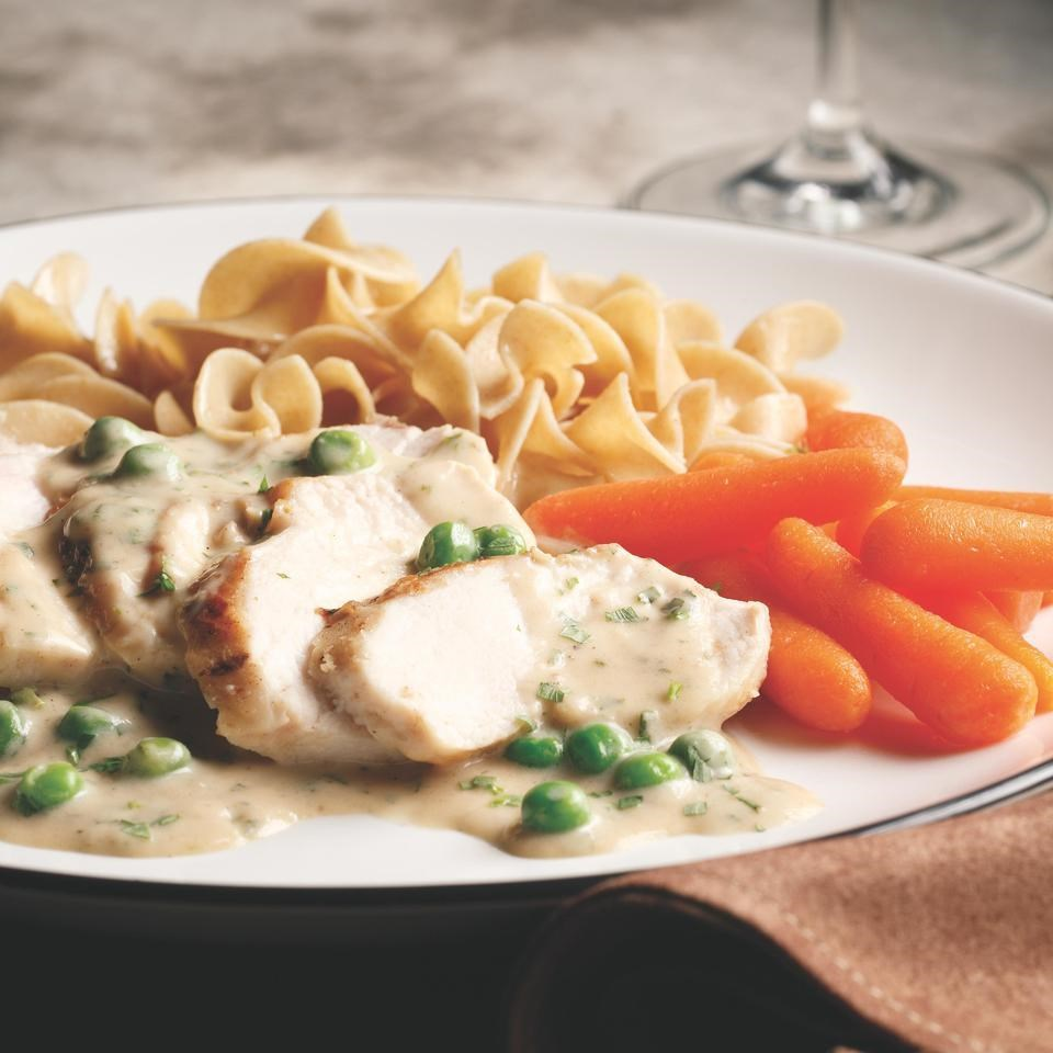 Chicken With Tarragon Cream Sauce Recipe Eatingwell