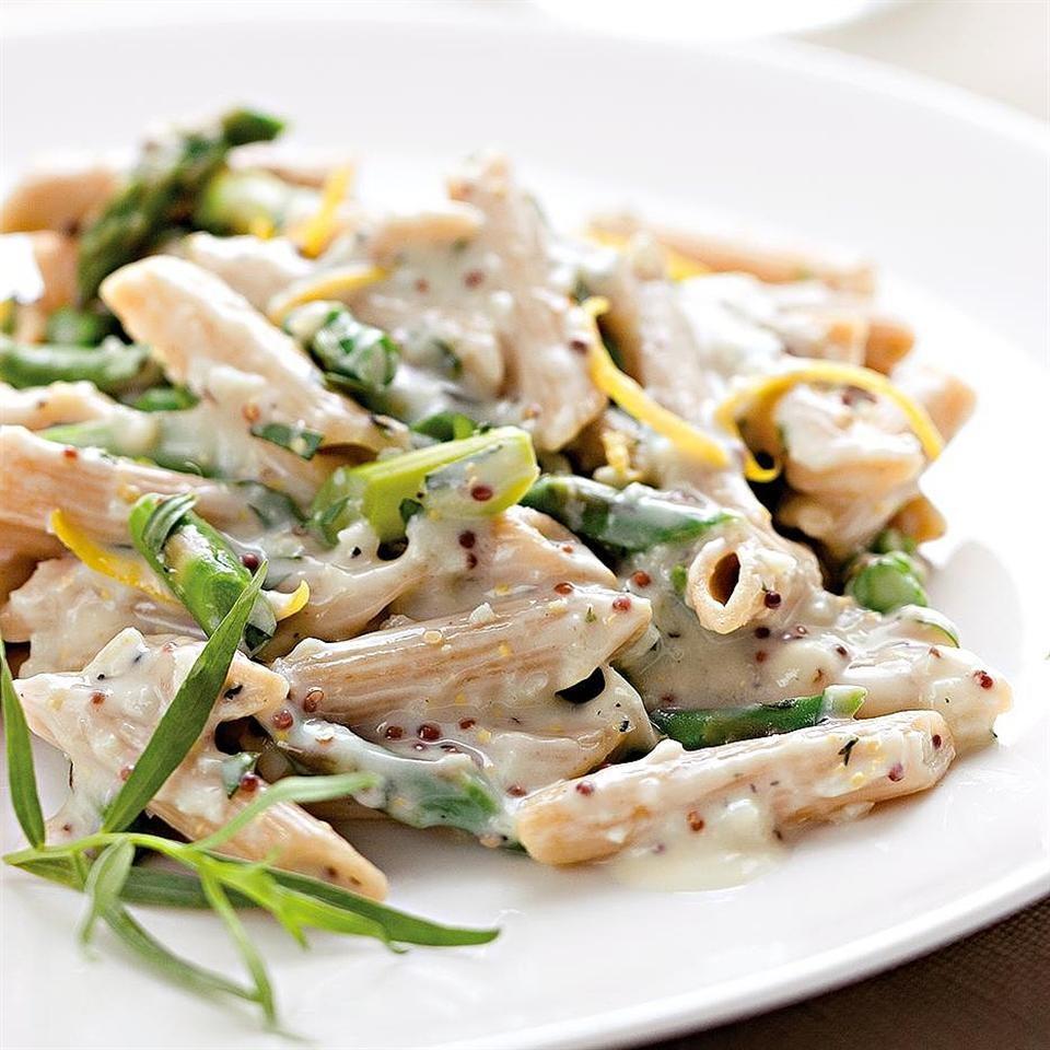 Lemony Asparagus Pasta Recipe - EatingWell