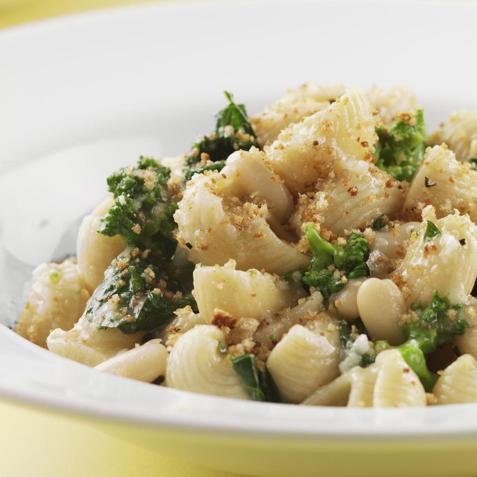 Orecchiette with Broccoli Rabe & Chickpeas