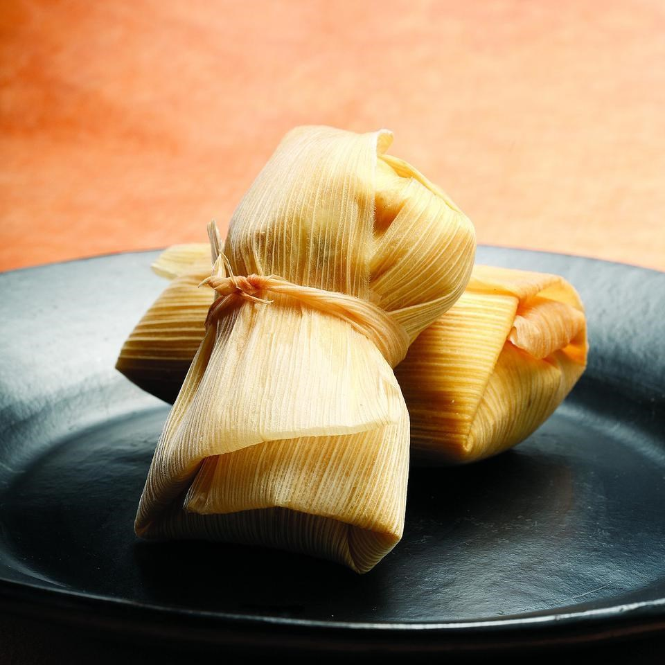 Squash, Black Bean & Goat Cheese Tamales