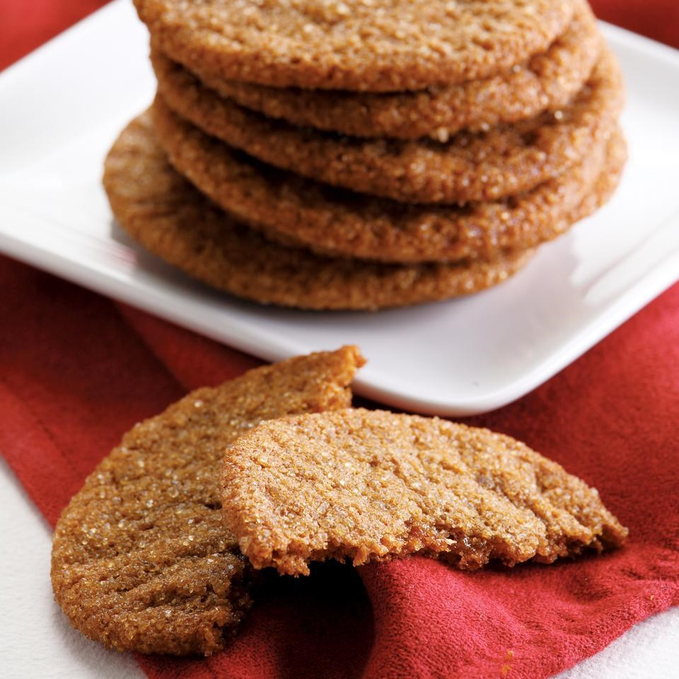 Ginger Crinkle Cookies Recipe