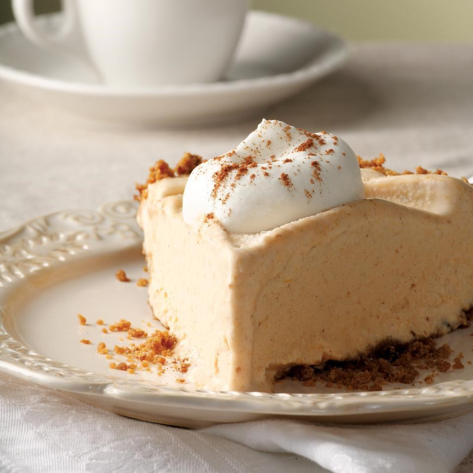 Frozen Pumpkin Mousse Pie Recipe - EatingWell