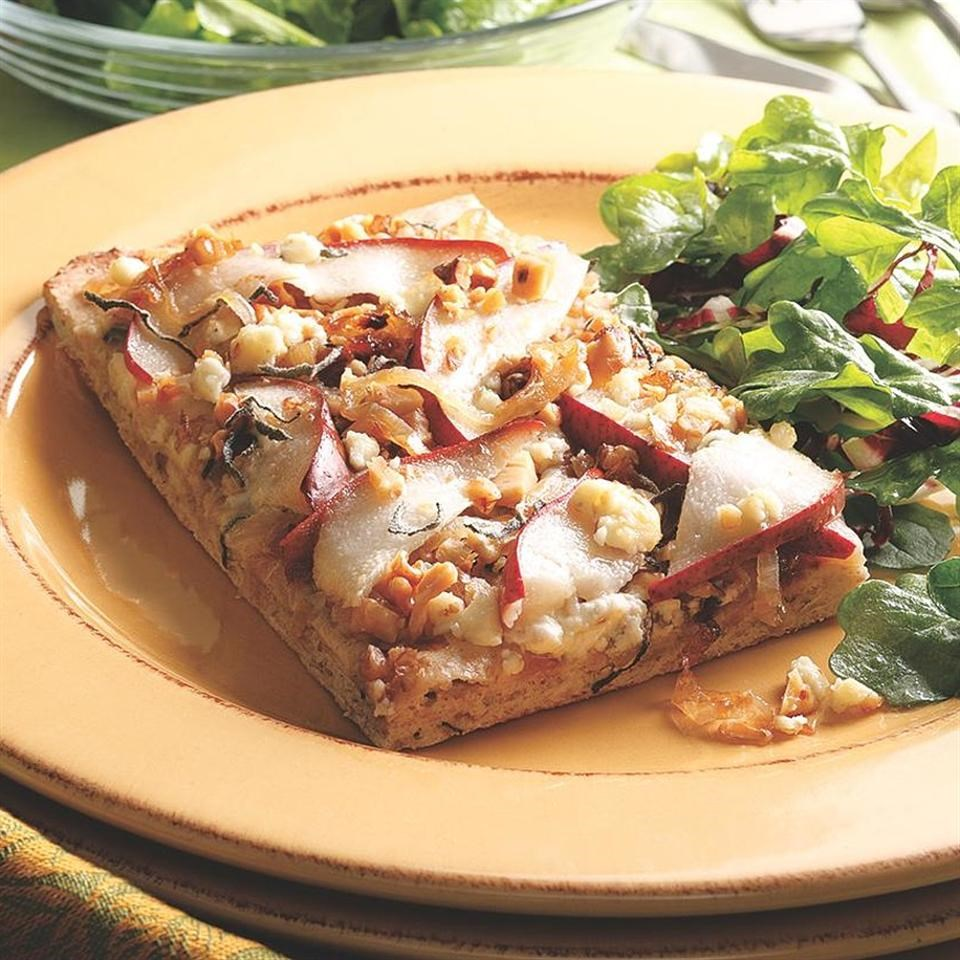 Pear & Blue Cheese Flatbread