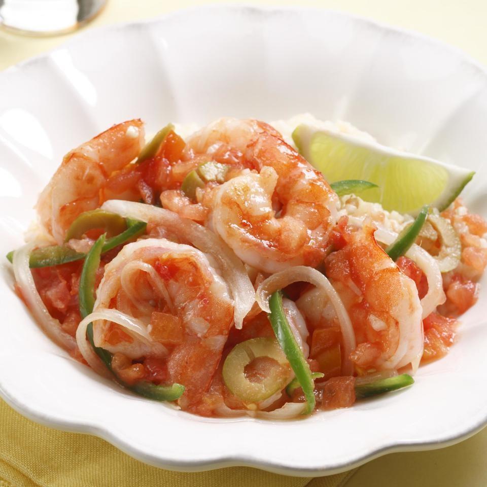 Shrimp Veracruzana