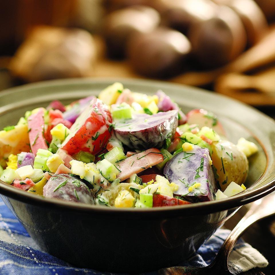 Country Potato Salad Recipe - EatingWell.com