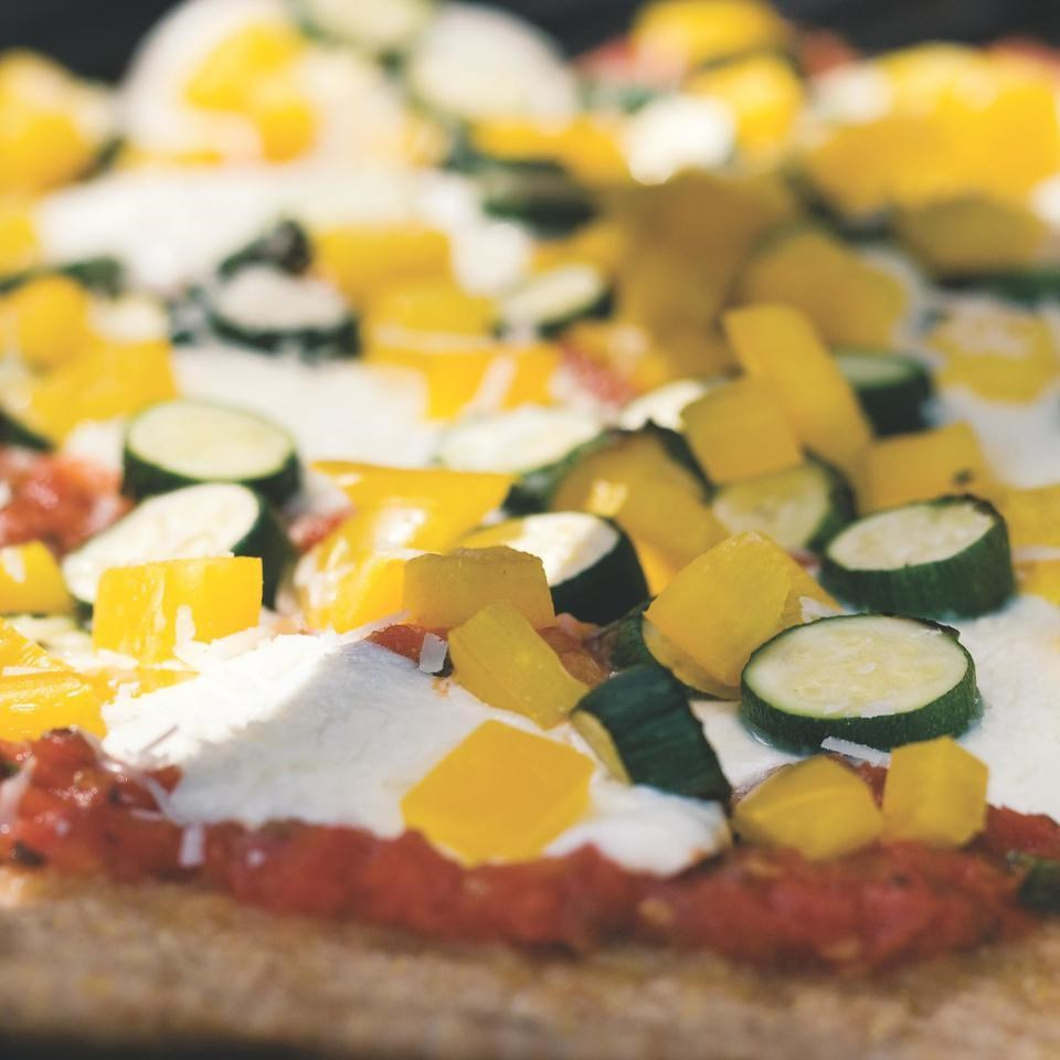 Garden Pizza Recipe - EatingWell.com