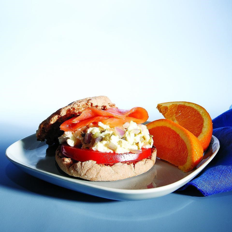 Egg salmon sandwich recipe for Fish eggs food