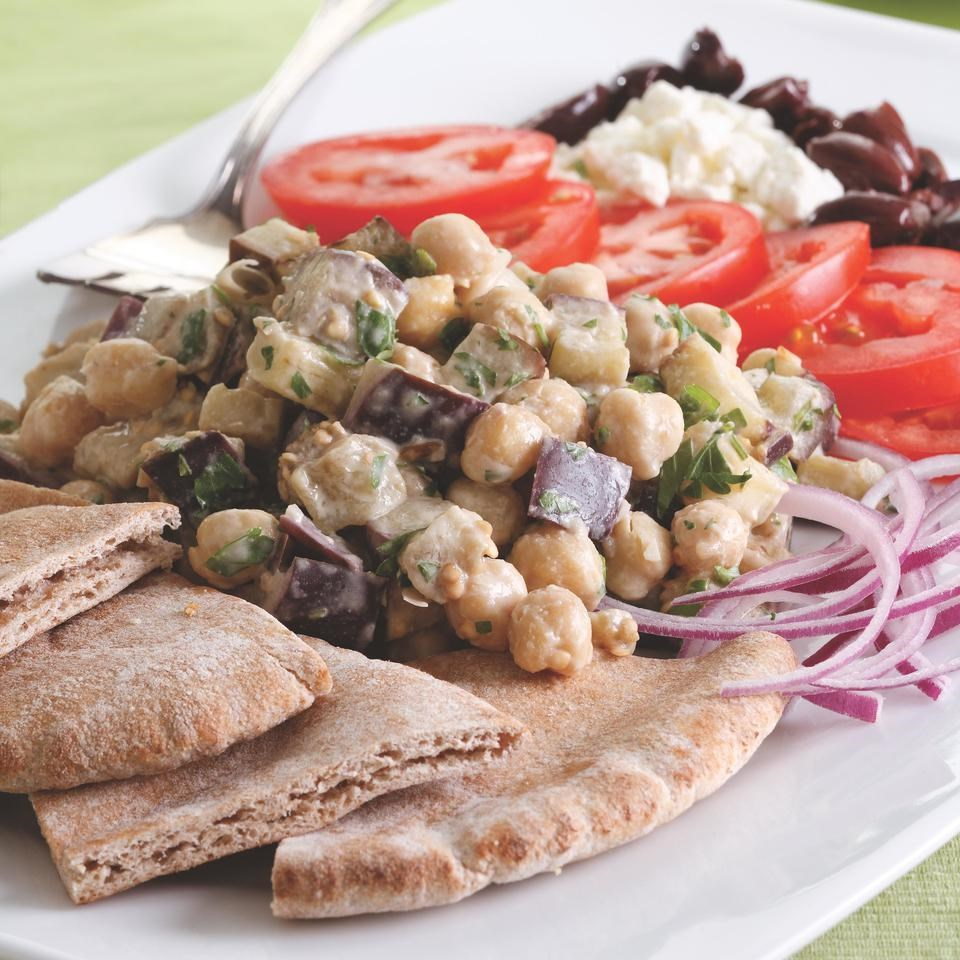 Middle Eastern Chickpea Platter Recipe - EatingWell