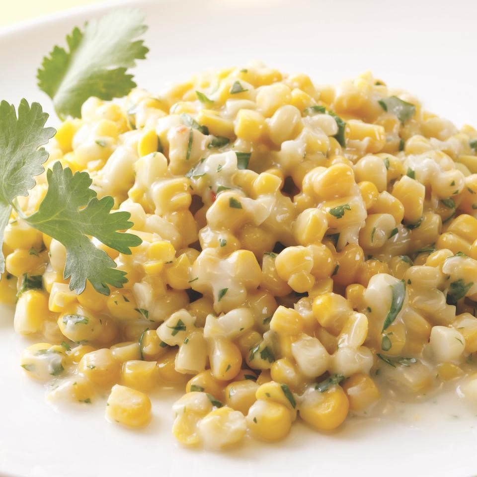 Coconut Creamed Corn Recipe - EatingWell