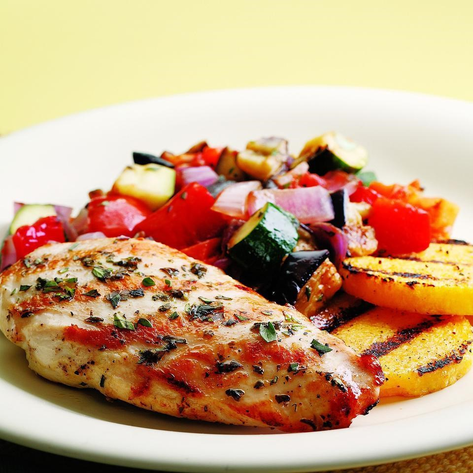Grilled Chicken Ratatouille Recipe Eatingwell