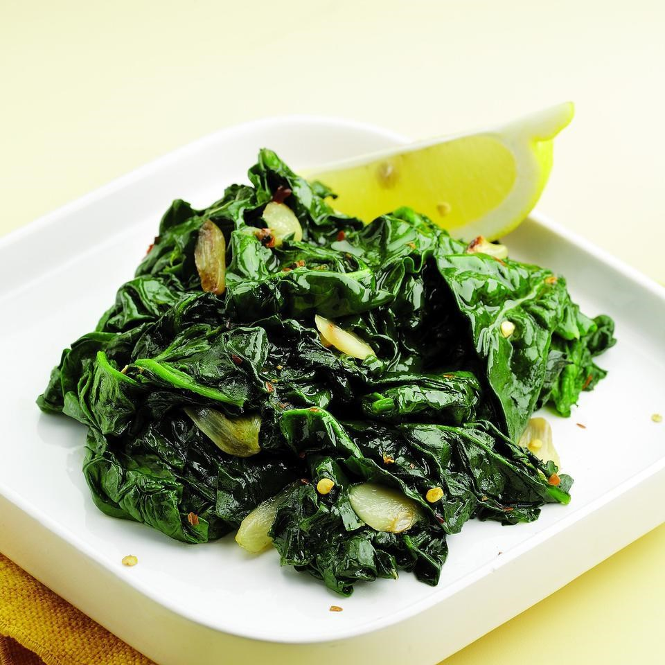 Simple Sauteed Spinach