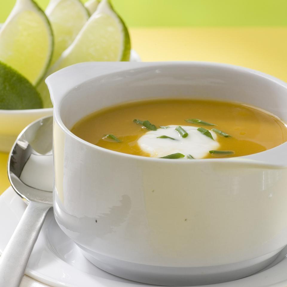 Baja Butternut Squash Soup