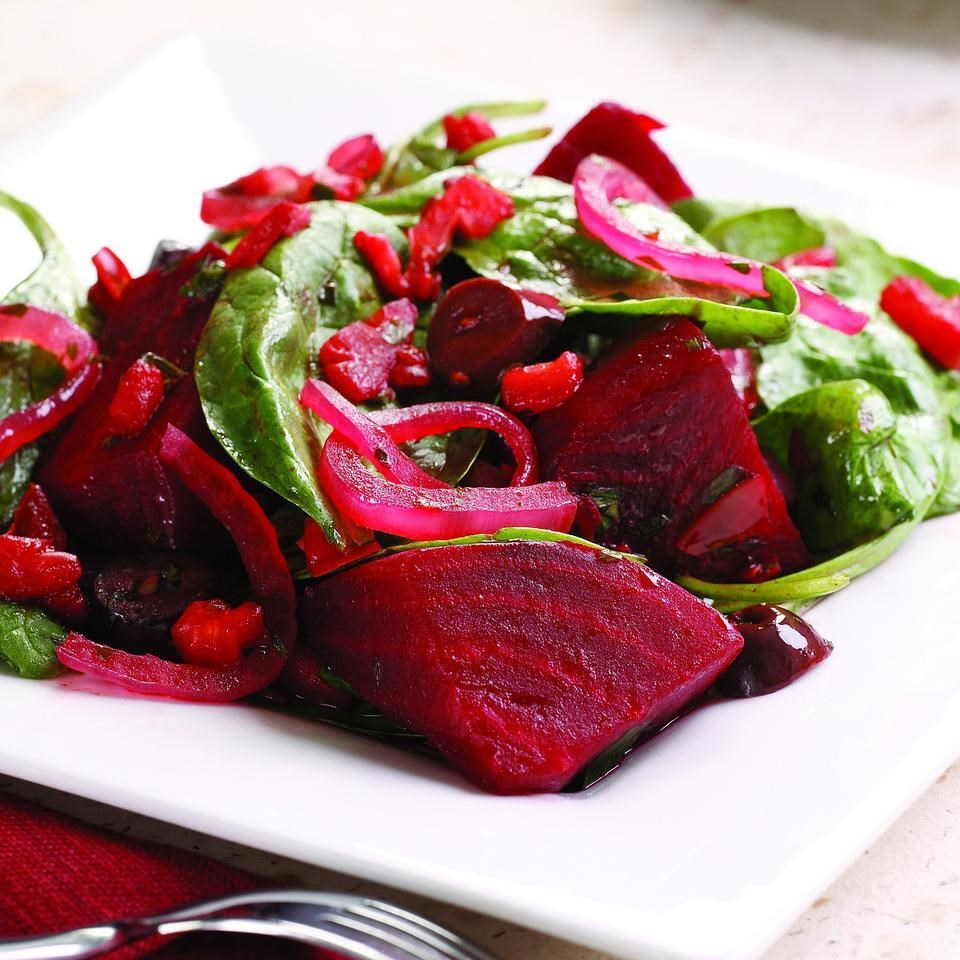 How to originally make beetroot salad without mayonnaise 83